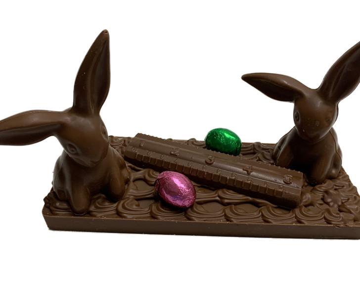 Social Distancing Easter Scene