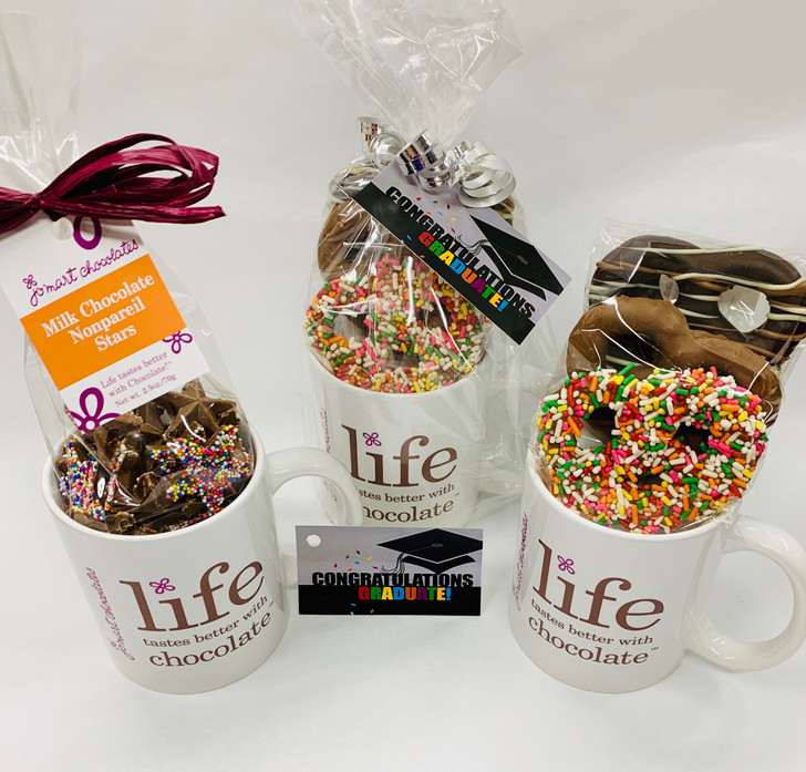 JoMart Life Tastes Better with Chocolate Mug Gift Package