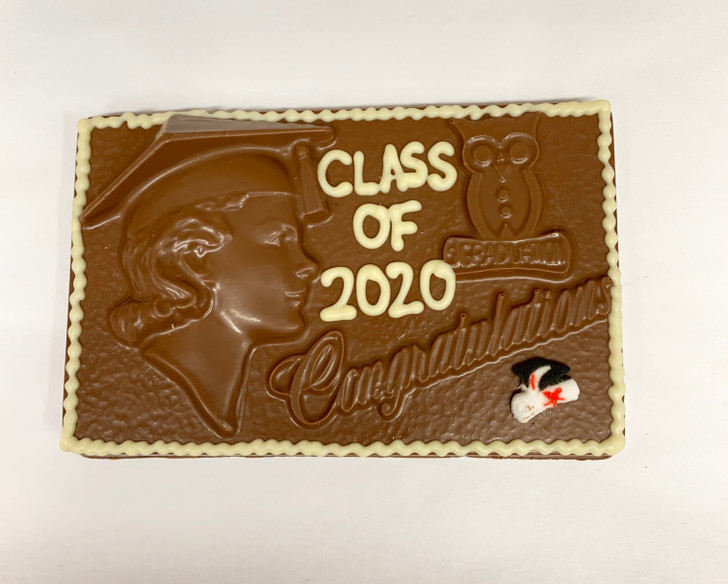 Class of 2020 Chocolate Plaque