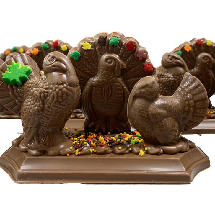A Very Turkey Thanksgiving Scene