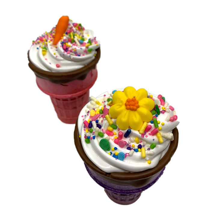 Holiday Spring Marshmallow Cones