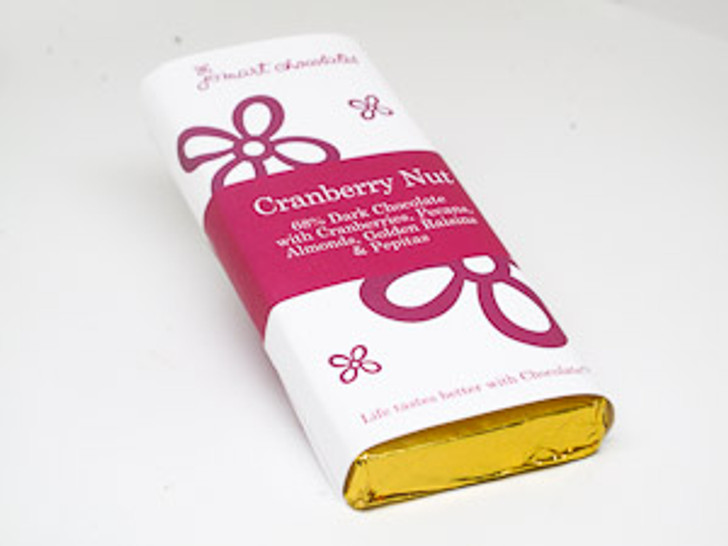 Cranberry Nut Chocolate Bar