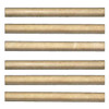 Crema Marfil Marble Bullnose Pencil Molding Polished