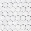 """Bianco Dolomiti Marble 1"""" Penny Round Mosaic Tile Honed"""