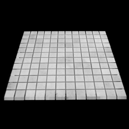 Statuary Crystal Marble Italian White Statuario 1x1 Mosaic Tile Polished