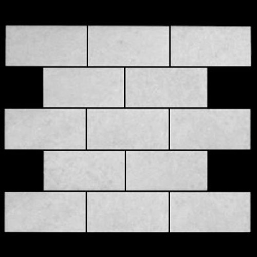 Statuary Crystal Marble Italian White Statuario 3x6 Marble Subway Tile Polished