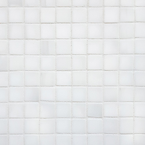 Dolomiti White Marble Italian Bianco Dolomite 5/8x5/8 Mosaic Tile Polished