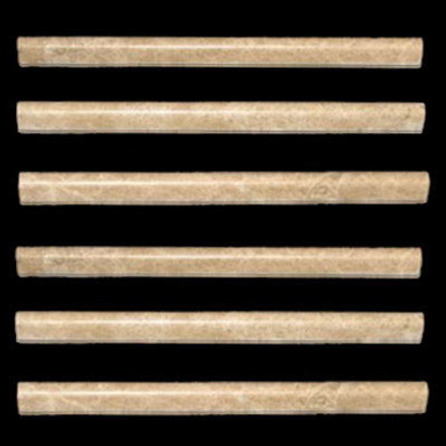 Light Emperador Marble Bullnose Pencil Molding Polished