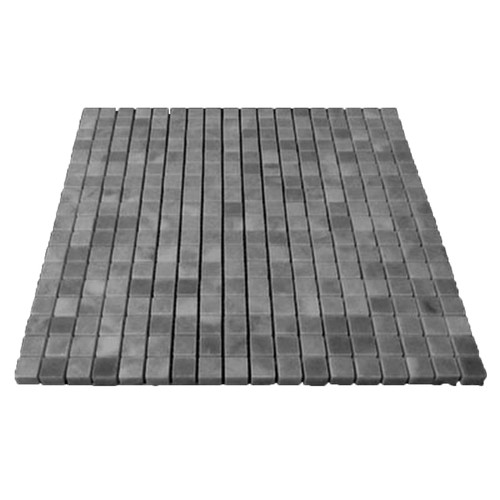 Bardiglio Gray Marble 5/8x5/8 Mosaic Tile Polished