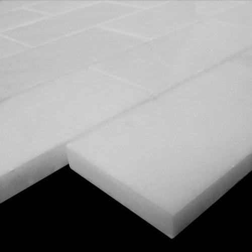 Bianco Dolomiti Marble Italian White Dolomite 2x4 Mosaic Tile Polished