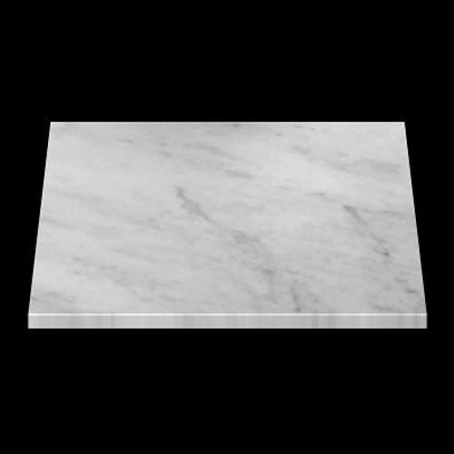 "Italian White Carrera Marble Bianco Carrara 1 1/4"" Marble Slab Polished"