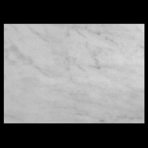"White Carrera Italian Marble Bianco Carrara 1 1/4"" Marble Slab Honed"