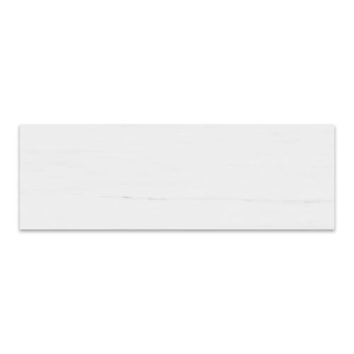 4x12  Bianco Dolomiti Marble Tile Polished