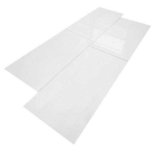 12x24 Bianco Dolomiti Marble Tile Polished