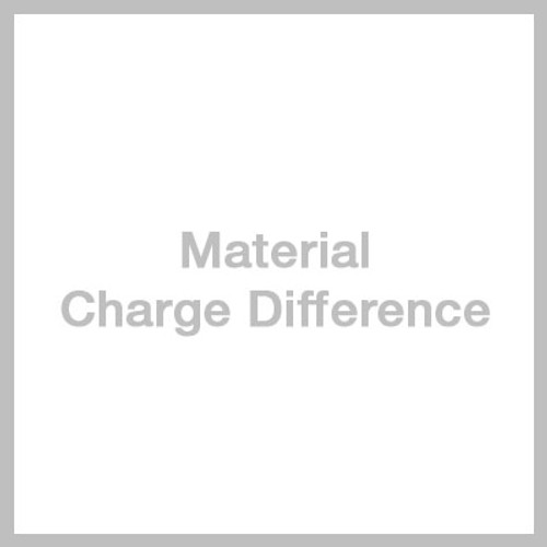 Material Charge Difference