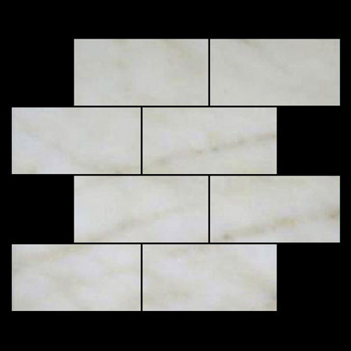 Afyon Gold Sugar Marble 6x12 Subway Tile Polished
