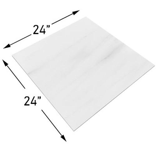 Bianco Dolomiti Marble 24x24 Tile Polished