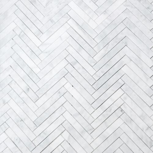 1x6 Herringbone Mosaic Tile Honed