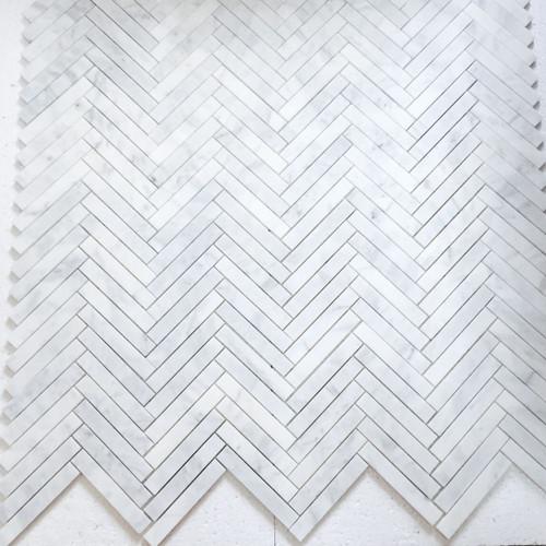 1x6 Herringbone Mosaic Tile Polished