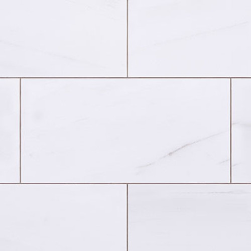 Bianco Dolomiti  12x24 Marble Tile Honed
