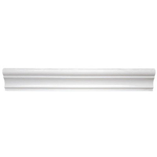 Dolomiti White Marble Italian Bianco Dolomite Crown Molding Polished