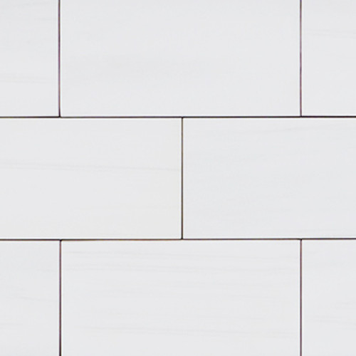 3x6  Bianco Dolomite Marble Subway Tile Honed