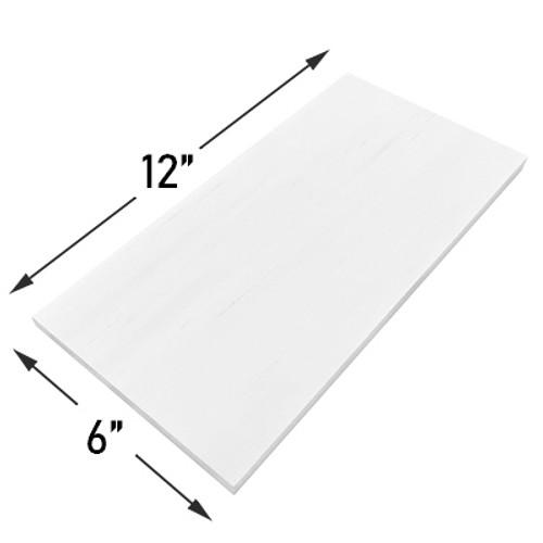 6x12 Bianco Dolomiti Marble Subway Tile Honed