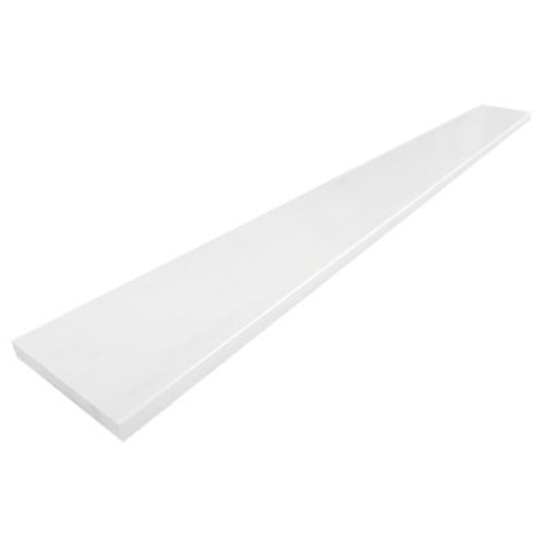 Bianco Dolomite Marble 6X72 Door Threshold Saddle Polished
