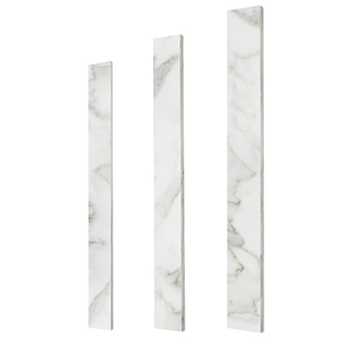 Calacatta Gold Italian Marble 6 x 72 Door Threshold Saddle Honed