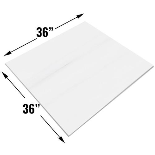 Bianco Dolomiti Marble 36x36 Tile Polished