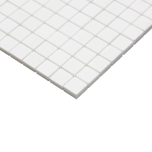 Bianco Dolomiti Polished Marble 1x1 Mosaic Tile