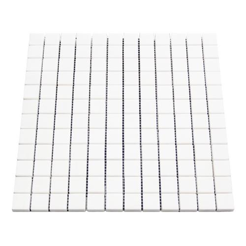 Polished Bianco Dolomiti Marble 1x1 Mosaic Tile