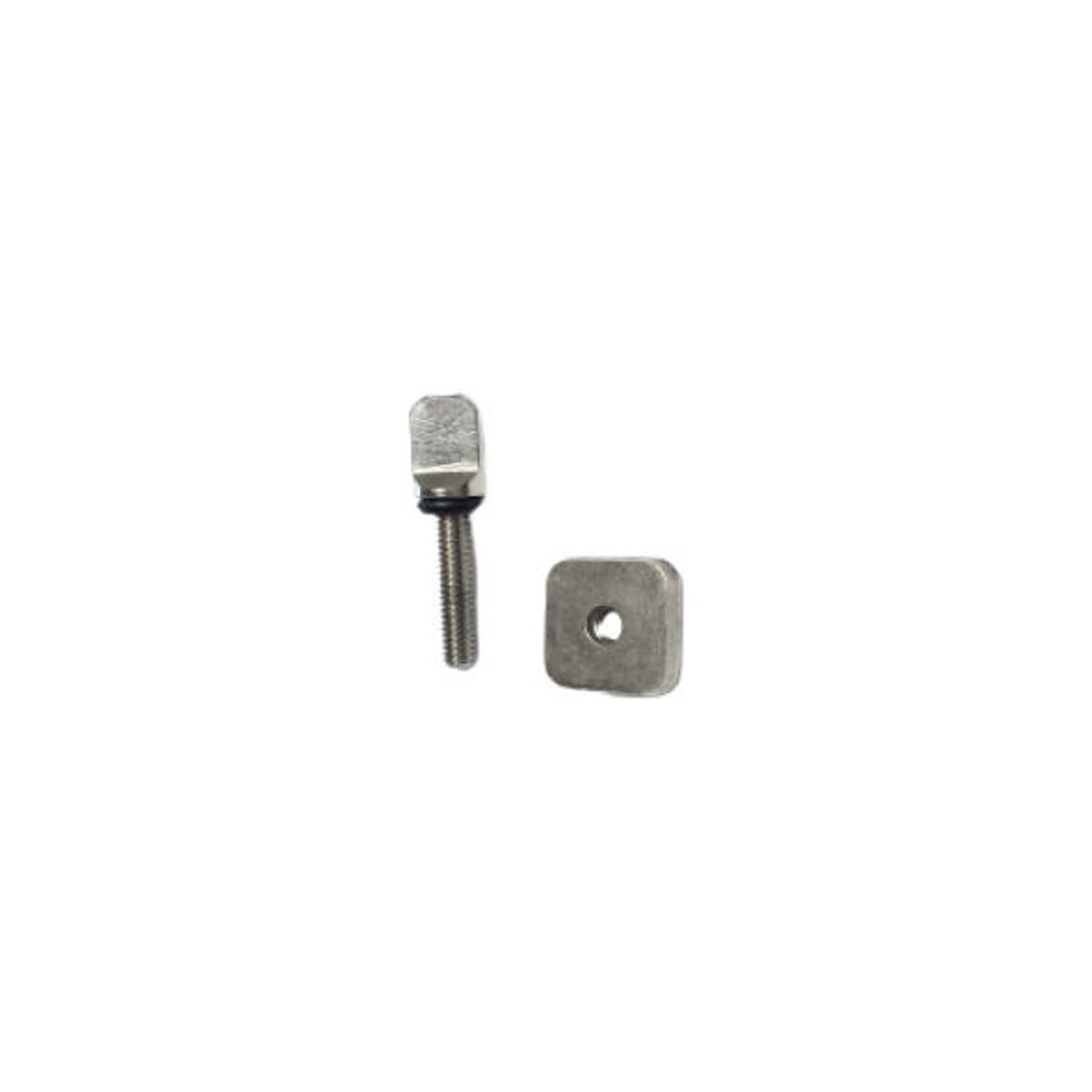 Bixpy Stainless Steel Fin Screw and Plate