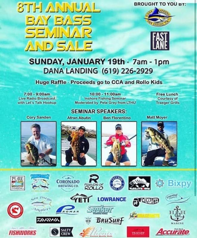 8th Annual Bay Bass Seminar and Sale