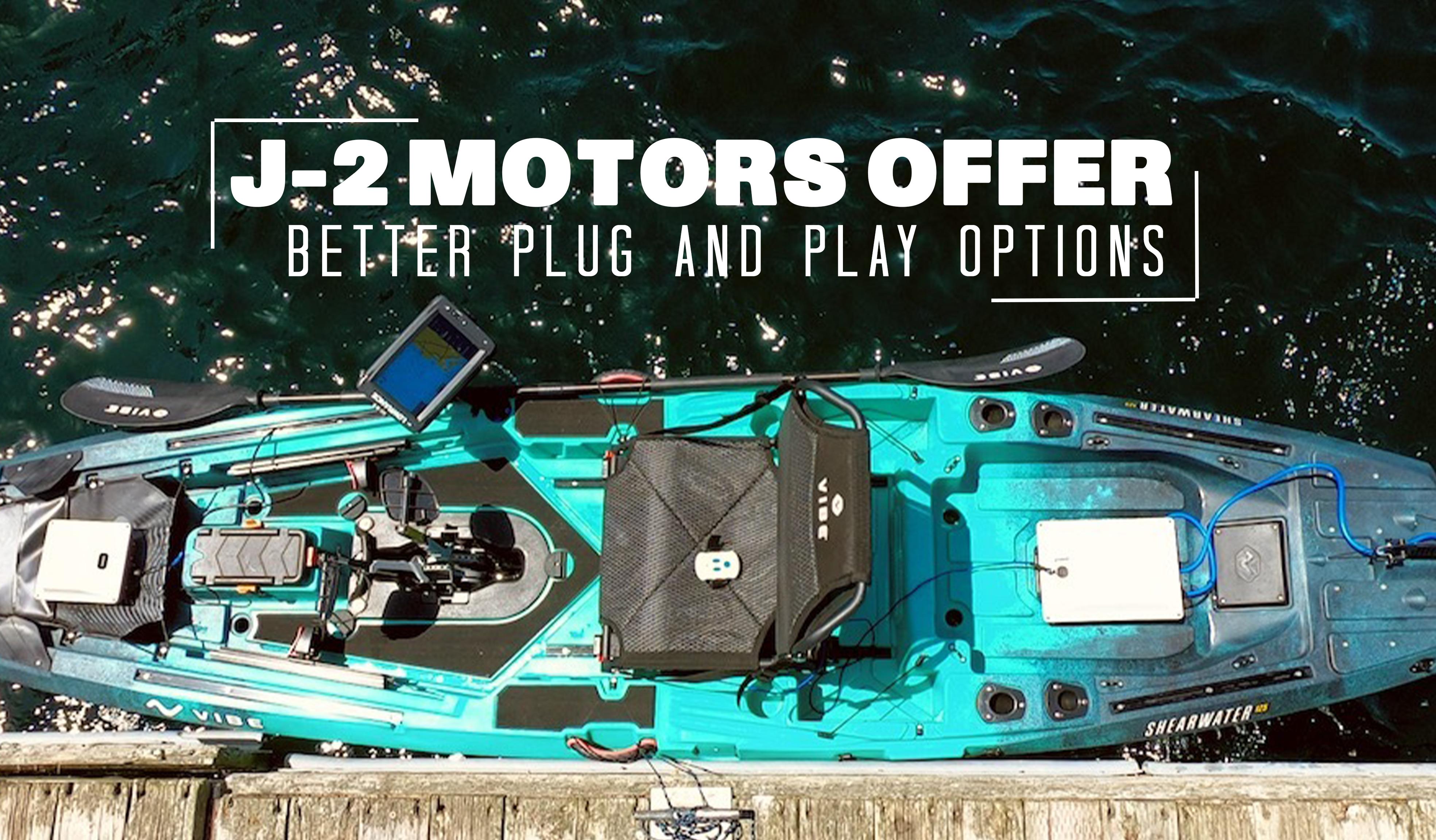 J-2 Motors Offer Better Plug & Play Options