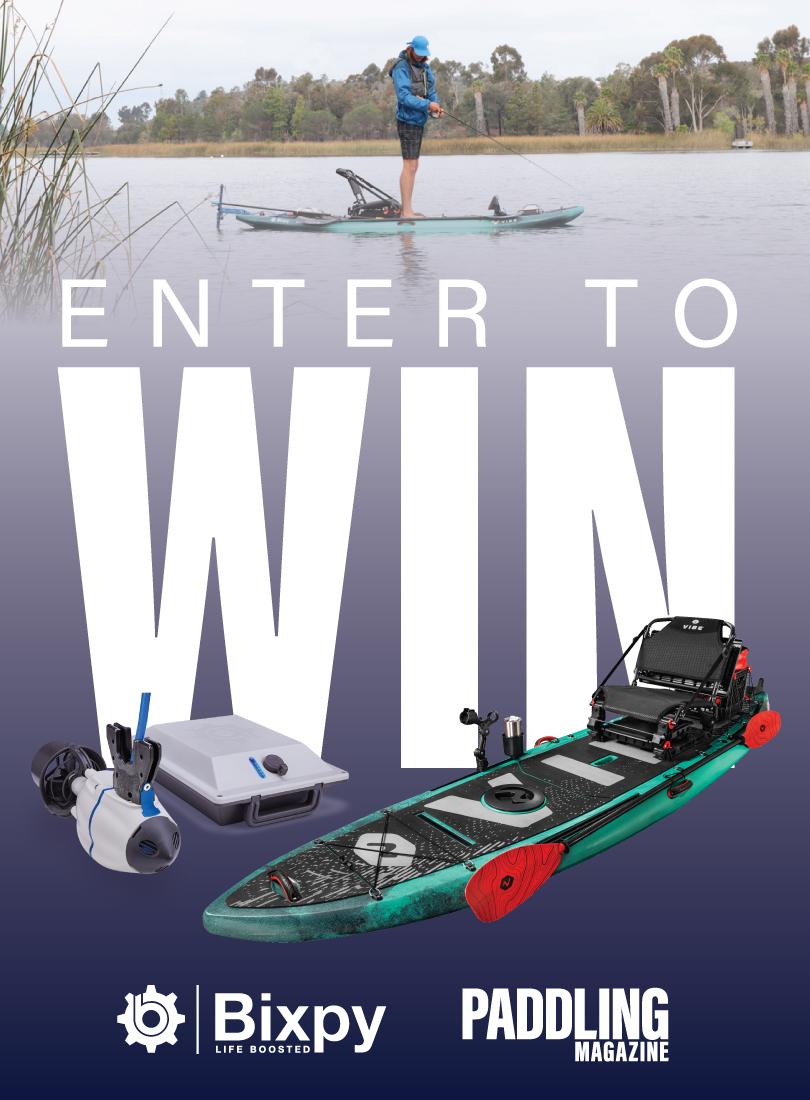 Enter to win a Bixpy Motor + Vibe Kayak!