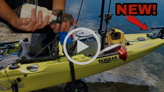 Installation of the Month: Bixpy Power Pole Adapter on a 2019 Hobie Outback