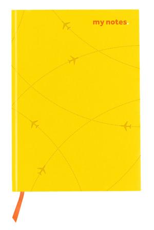 flydubai notebook -Yellow