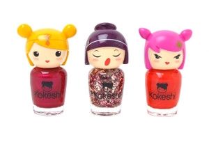 I am a Pop Star Nail Varnish Set by Kokeshi