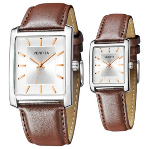 Twin Watch Set - Brown by Venitta