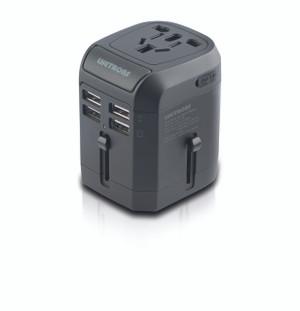 .Lifetrons 4 USB Port Travel Adaptor by Lifetrons Switzerland