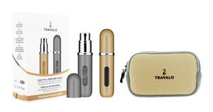 .Classic HD Take 2 Gold & Space Grey by Travalo