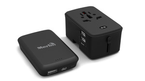 .Merlin Adpator with Portable Powerbank