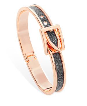 .Belle & Beau After Dark Moondust Buckle Bangle