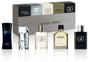 Giorgio Armani Mens Miniature Set