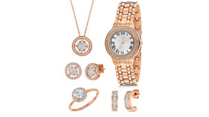Fervor Elegante Watch & Jewellery Box