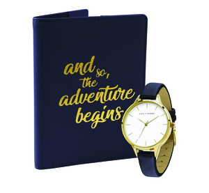 Lily+Stone Watch & Passport Holder Set