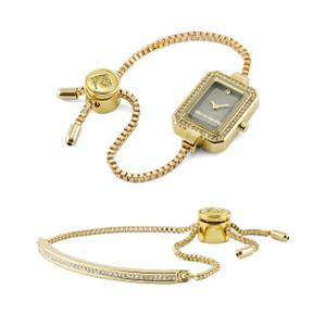 Pierre Cardin Adj. Watch & Bracelet Set