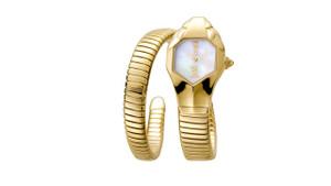 Lady's Single Wrap Gold Watch