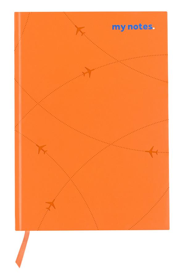 flydubai notebook - Orange